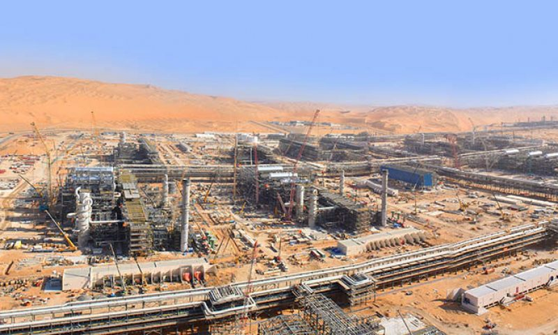 Saipem Scores New contract awarded by ADNOC for the Shah Gas Plant