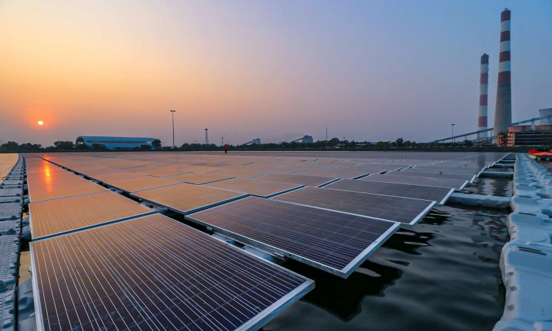 CIEL & TERRE INDIA Commissions Floating Solar Power Plant in India