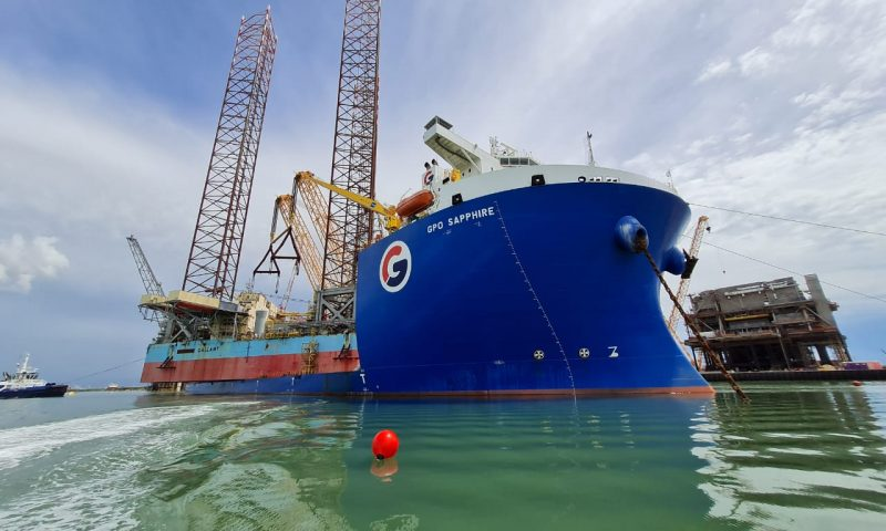 GPO Sapphire Successfully Completed the Transportion of Maersk Gallant