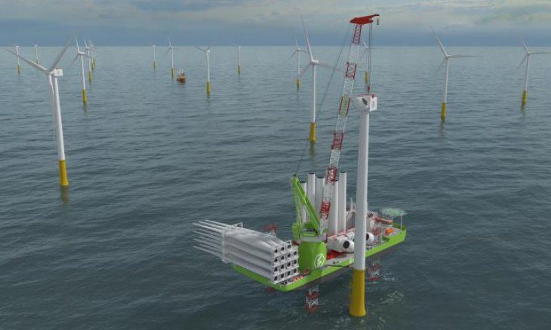 Huisman to Deliver 2,600mt Leg Encircling Crane for Eneti's new wind turbine installation vessel