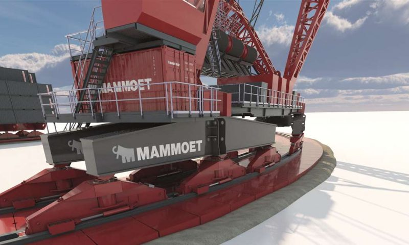 Mammoet´s SK6,000 Crane Ready for Next Generation Offshore Wind Foundations