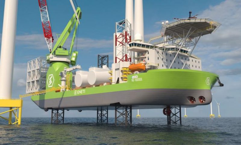 NOV Received Contracts for Eneti's First Wind Turbine Installation (WTI) Jack-up Vessel