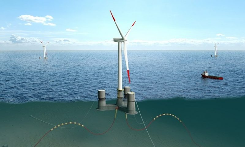 Ørsted Announces Partnership with Falck Renewables and BlueFloat Energy
