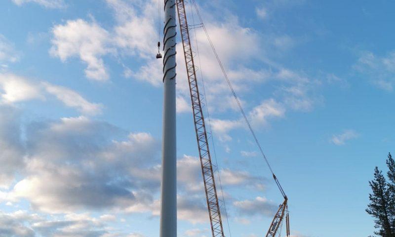 Sarens Installs 57 Wind Turbines for Markbygden II Project in Sweden