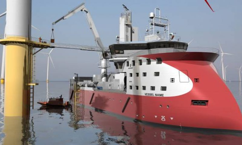 Ulstein's Two Stern Design Provides Fuel Savings and Maximum Manoeuvrability