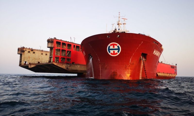 OHT´s M/V Hawk Performs Balancing Act Around Cape of Good Hope