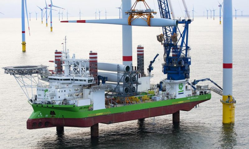 DEME Offshore Prepares for Next Generation Offshore Wind Turbines