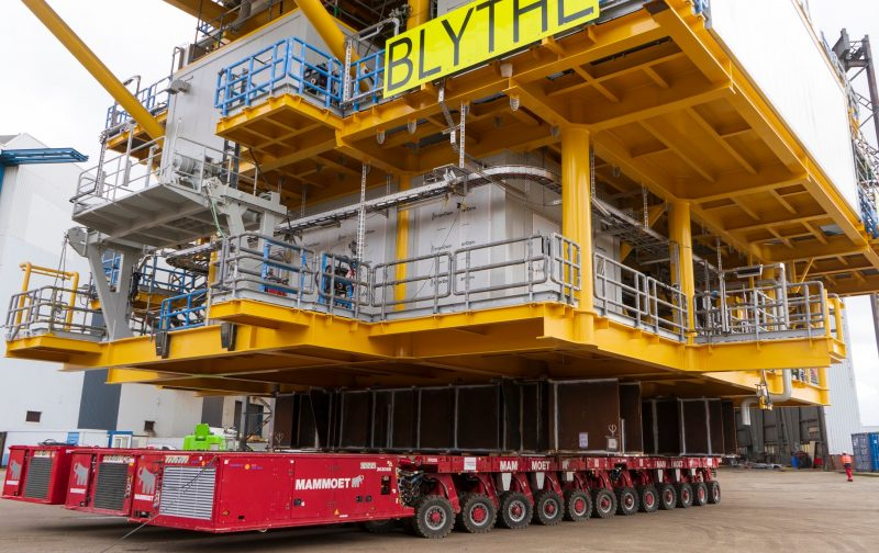 Mammoet Completes First Project Using Cleaner Alternative Fuel