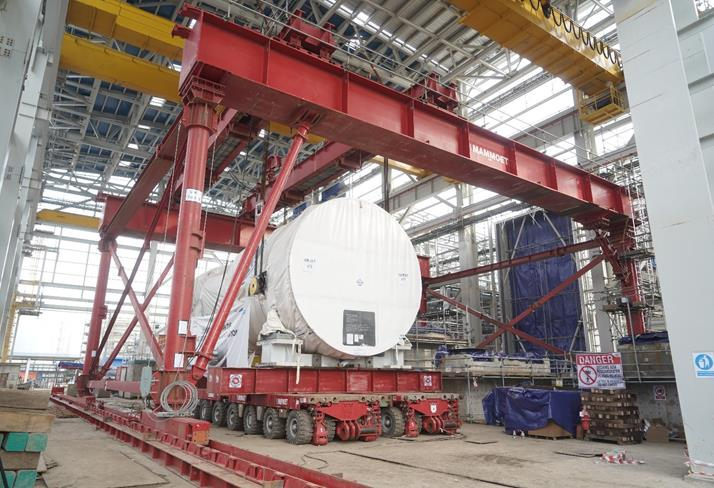 Mammoet Completes Replacement of Power Plant Equipment in Indonesia