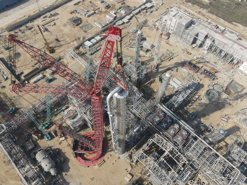Mammoet Successfully Completed a Heavy Lift Project with its PT 50 Ring Crane