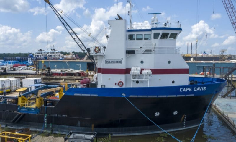 Oceaneering Awarded Survey Contract from EEPGL