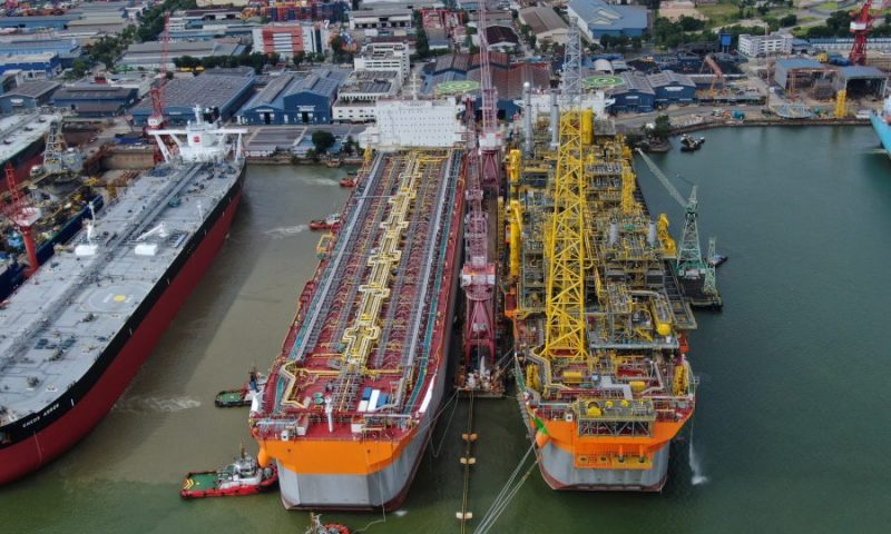 Prosperity FPSO Hull Arrives in Singapore for Next Phase of Construction