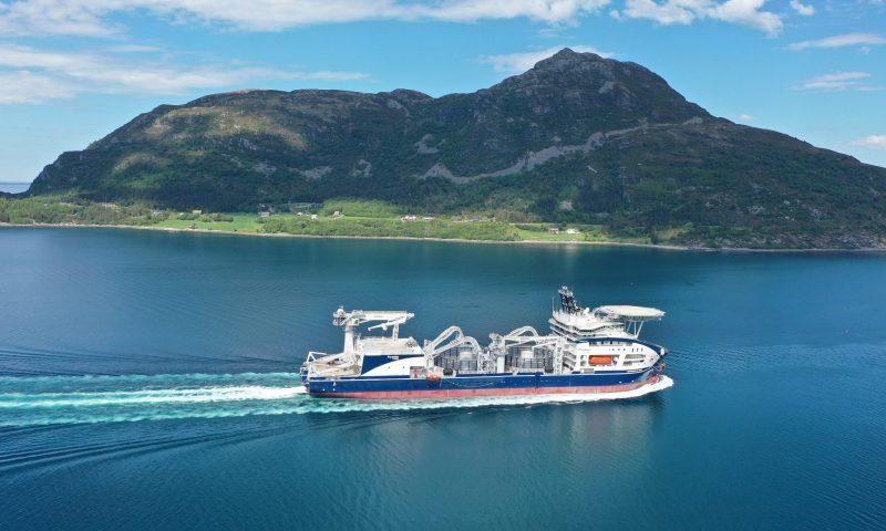 LEONARDO DA VINCI Prysmian Worlds Most Advanced Cable-Laying Vessel