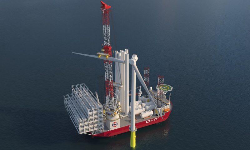 Wärtsilä to Provide Solutions for OHT's Wind Turbine Installation Vessel