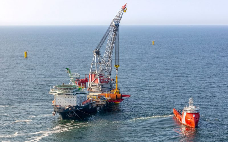 Offshore Construction of Hollandse Kust Zuid Going on at Full Speed