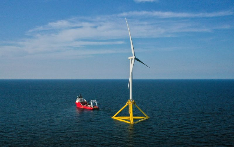 RWE, NTE and Havfram: joint participation in floating offshore wind project in Norway