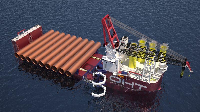OHT Alfa Lift semi-submersible vessel.
