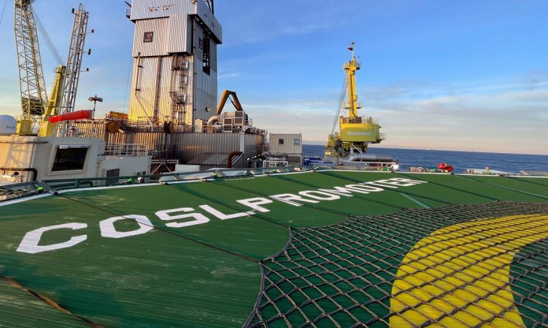COSLPromoter to Drill for Statfjord Subsea Fields
