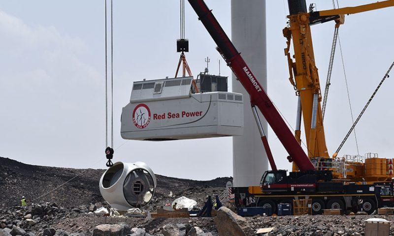 Mammoet Installs Wind Turbines on Djibouti´s First Renewable Energy Farm
